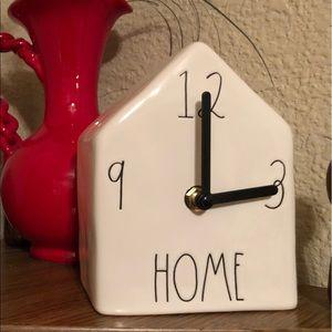 Rae Dunn Birdhouse Clock
